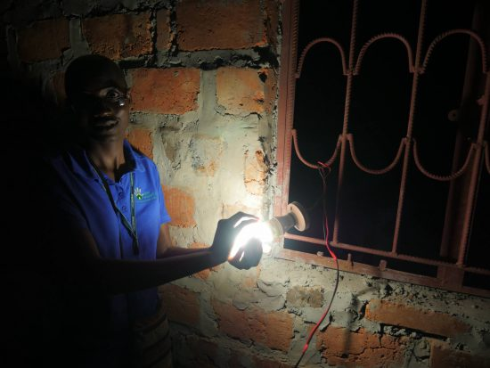 Woman Engineer Lights Up Zambia's Rural Community