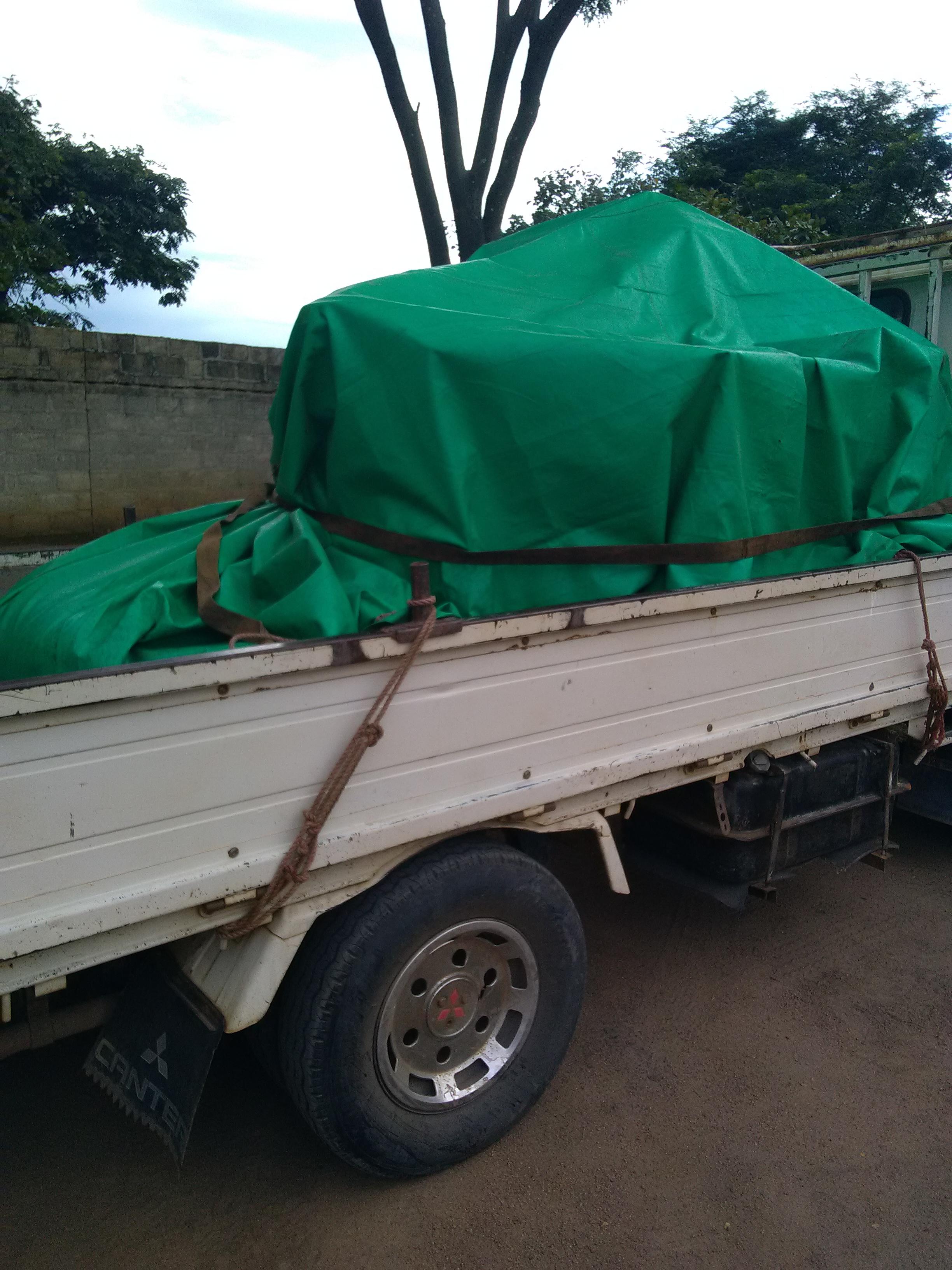 Transporting Hammer Mill